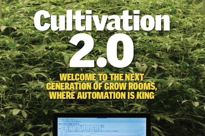Automating Cannabis Cultivation