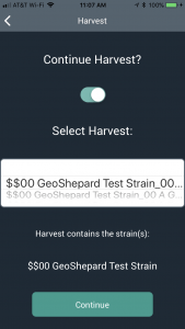 GeoShepard Harvest Batch Continue